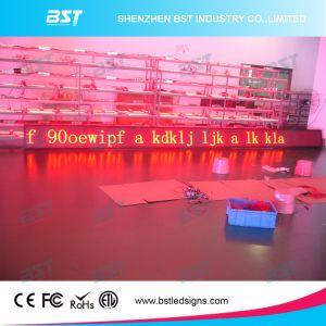 P7.62 se déplaçant à l'intérieur de couleur rouge LED Affichage de message