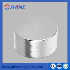 Magnete assiale nichelato del cilindro del neodimio di magnetizzazione D45X20mm