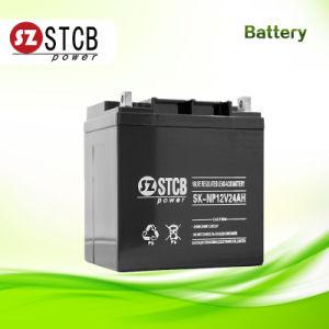 Batería VRLA 12V 24Ah para Almacenamiento de Energía Solar