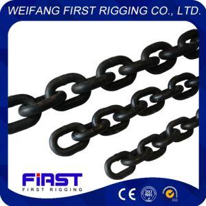 La norma EN818 de alto estándar de fábrica fuerza G80 de la cadena de elevación de la cadena de elevación G80