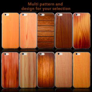 カスタムプリントAppleのiPhone 6のケースのためのiPhone 6 Sのための木製デザインプラスチックTPU携帯電話の裏表紙のセルケースと、