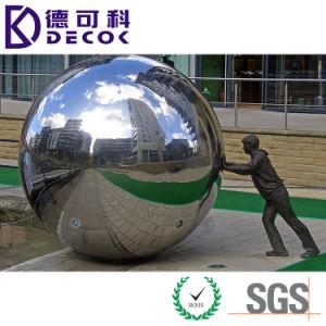 Tamanho grande 2000mm esfera oco de Aço Inoxidável