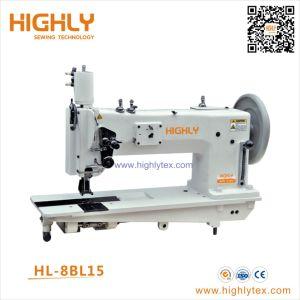 Hl-8 bl15 largo brazo de alimentación compuesto de aguja doble la máquina de coser cuero