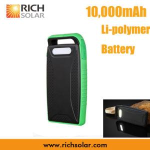 batteria solare Carriable del Li-Polimero 5V con il cavo del USB