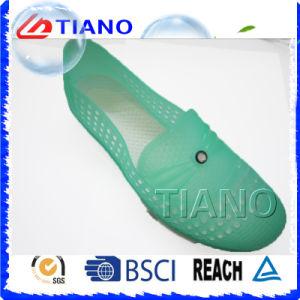 Nouveau sabot de coton en PVC souple (TNK40054)