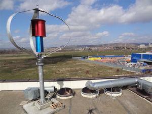 3KW Gerador de turbina eólica Vertical