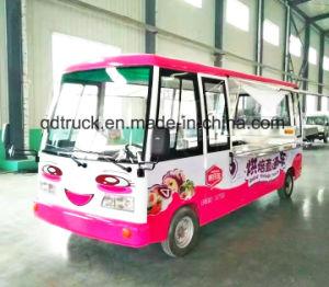 Elektrische voedselvrachtwagen, de elektrische vrachtwagen van de voedsellevering