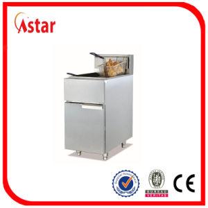 Gás Industrial fritadeira com sistema de segurança, Chip de peixes de frango em aço inoxidável Fritadeira quente na Índia