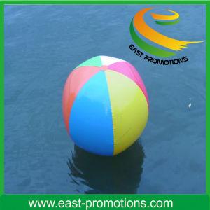 Sfera di spiaggia gonfiabile di colore della miscela di TPU o del PVC
