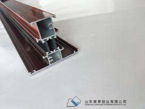 Profili di alluminio Cina dell'espulsione della scanalatura della costruzione T della finestra e del portello