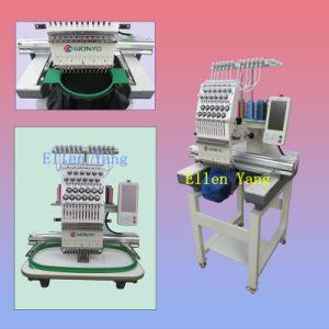 Компактная одиночная головная машина Wy1201CS вышивки