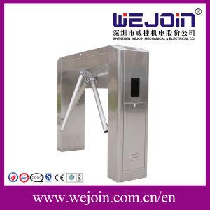 Acero inoxidable torniquete trípode automático utilice el dispositivo de reconocimiento facial
