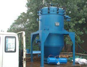 Uma boa qualidade 6YT Sistema Filtro foliar da Peneira de aço inoxidável