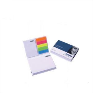 昇進のカスタムロゴの印刷のカスタム粘着性があるノート