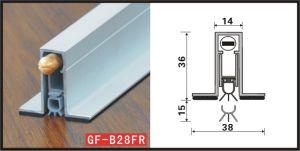 Автоматическая прокладка для тушения пожаров в нижней части двери Gf-B028fr