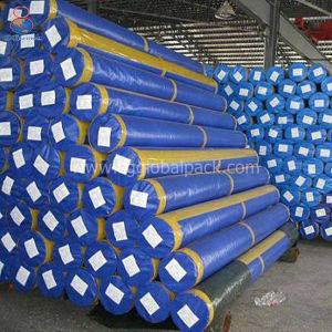 Kundenspezifische wasserdichte PET Plane für die Stahlverpackung