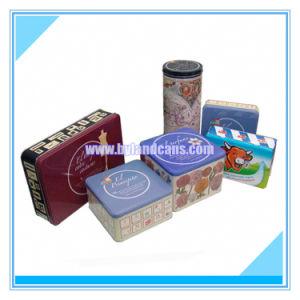 cadeau de promotion de la série de boîtes d'étain