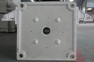 Automático de control PLC PP Prensa Filtro de membrana