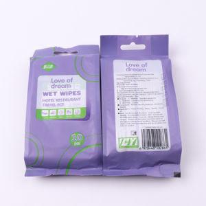 Aangepast Ce & ISO bevestigden de Beschikbare Antibacteriële individueel Verpakte Enige Natte Reis van het Pak afveegt