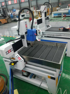 Anuncio de metal de CNC Router La Máquina de grabado de aluminio de hierro