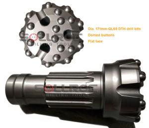 Giù l'utensile a inserti del foro Ql60-203 DTH per  martello 6