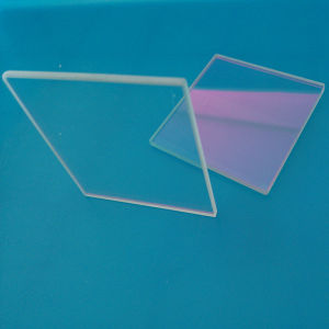 Hch高い伝達98%サファイアの光学Windows Planoの光学