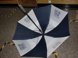 """Tullowオイル30"""" ガラス繊維の防風のゴルフ傘"""