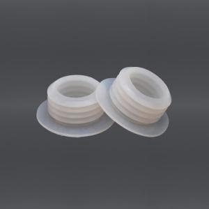 Copertura antipolvere del tappo del tappo protezione dell'estremità del tubo dei piedi della gomma di silicone/della protezione/guarnizione di filetto affusolate/inserto quadrato della spina
