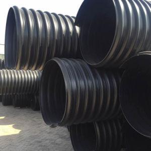 tubo ondulato doppio dell'HDPE del rifornimento idrico di 225mm