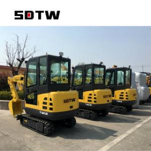 Miniexkavatoren des China-niedrige Preis-1.8t 1.8 T 1800kg für Verkauf