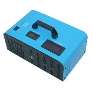 300W 12V 220V обратной солнечной энергии, интегрированного управления машины двойной порт вывода изменения синусоиды