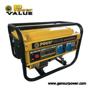 Grupo Electrógeno de gasolina de 5.5HP 6.5HP 7.5HP refrigerada por aire Generador 1kw a 7kw de potencia generador