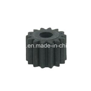 Ingranaggi conici personalizzati di riduzione diritta di nylon di plastica bianca per l'asta cilindrica ed il riduttore