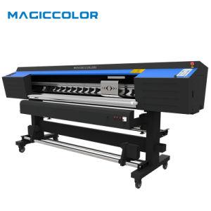 1.90m éco solvant imprimante grand format avec 2PCS DX5 Tête d'impression