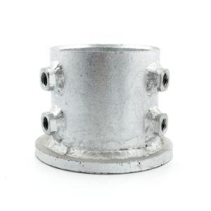 Handlauf-Grundplatte-Quadrat-Gefäß-Pfosten-Unterseite