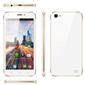 5 pulgadas de pantalla HD de 4G LTE El cuádruple núcleo smartphone con cámara de enfoque automático de 8MP