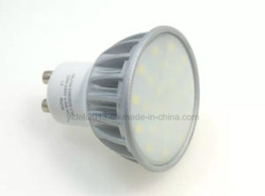 Nouveau MR16 GU10 5W à intensité variable COB Ampoule de LED Downlight Spotlight