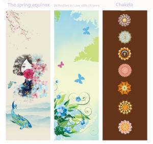 La piel de gamuza de patrón de caucho natural ecológica estera del yoga
