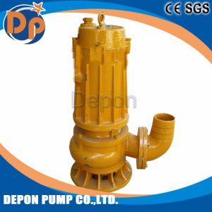빗물이 잠수할 수 있는 하수 오물 수도 펌프에 의하여 배수한다