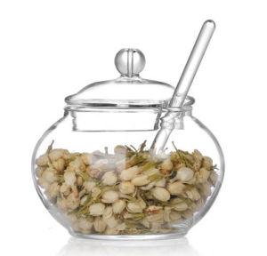 De zoute Kom van de Suiker van het Glas van de Kruik van het Suikergoed van de Suiker van het Glas van de Kruik van de Kruik van de Peper Vastgestelde Zoute