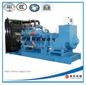 Motor mtu 1100kVA/880kw de tipo abierto generador diesel