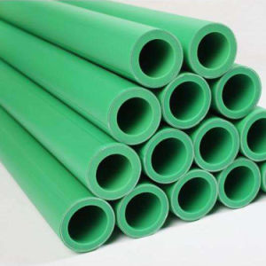 Resistente al calor para agua caliente y fría del tubo de plástico, PPR
