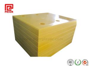Het gele Blad van het uhmwpe- Polyethyleen met Verschillende Grootte