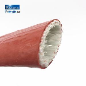 Großer Durchmesser-bunte silikonumhüllte Fiberglas-Hochtemperaturhülsen