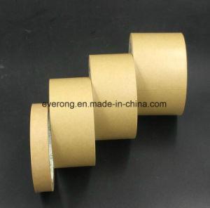 Engomado cinta de papel kraft para el transporte de agua y sellado de la cinta activa