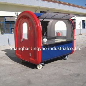 上海の高品質のホットドッグのカートの製造業者の食糧トラックかクレープのカート