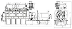 30/38 Generator Met motor