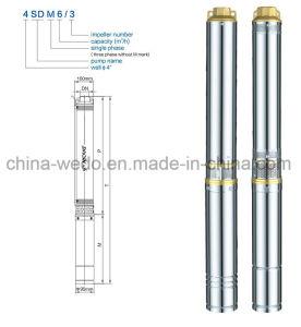 3.5SD2.5 submersible pour l'irrigation de la pompe de puits profond