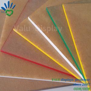 Placa de la placa de Acrílico Color fundido
