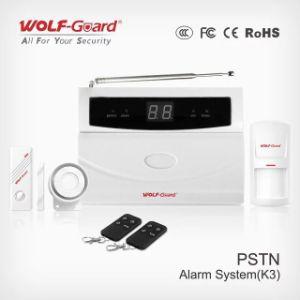 ワイヤーゾーン32のWireleの7つのゾーンPSTNネットワークホームセキュリティーの強盗の侵入者の警報システム